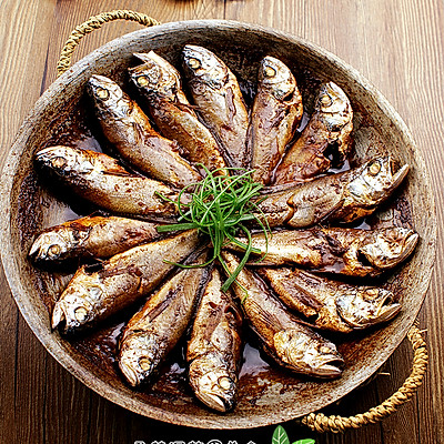 锅贴黄花鱼----海边小城的招牌菜