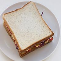 芒果金槍魚三明治的做法圖解11
