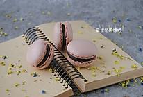 巧克力马卡龙#厉害了我的零食#的做法