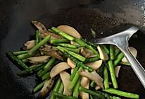 芦笋鲍菇的做法