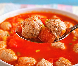 番茄牛肉丸│补气开胃的做法