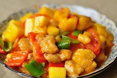 私房菜—菠蘿咕咾肉