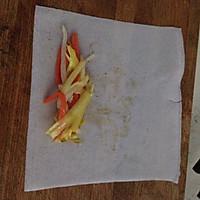 上海年夜饭必备---三丝春卷的做法图解5