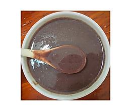 红豆红枣黑米燕麦米糊 (养身早餐)的做法