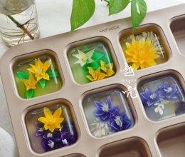 辣眼睛的3D果冻花的做法