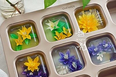 辣眼睛的3D果冻花
