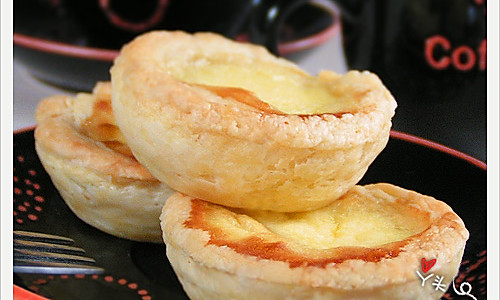 酥皮蛋挞的做法