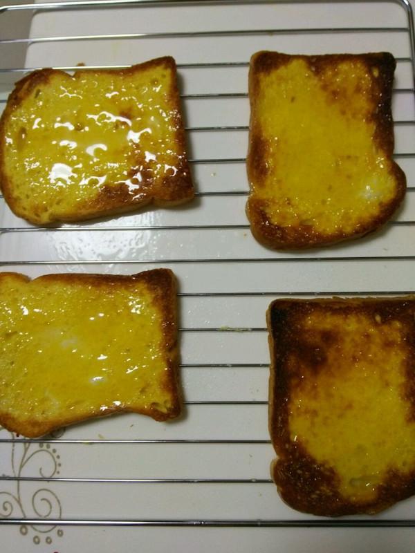 蜂蜜土司的做法