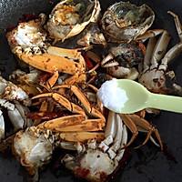【香辣螃蟹】~鲜香辣的做法图解8