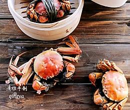 #秋天怎么吃#又到菊黄蟹肥秋正浓,教大家做清蒸螃蟹的做法