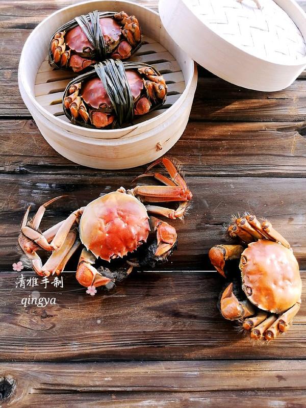 又到菊黄蟹肥秋正浓,教大家做清蒸螃蟹的做法
