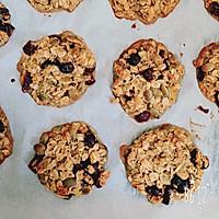 【健康零食】南瓜燕麦干果饼干的做法图解5