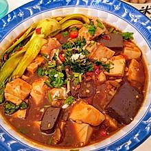 豆腐猪血闷豆腐