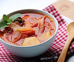 酸甜开胃【意式番茄汤】#夏日时光#的做法