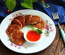 香煎龙利鱼饼#单挑夏天#的做法