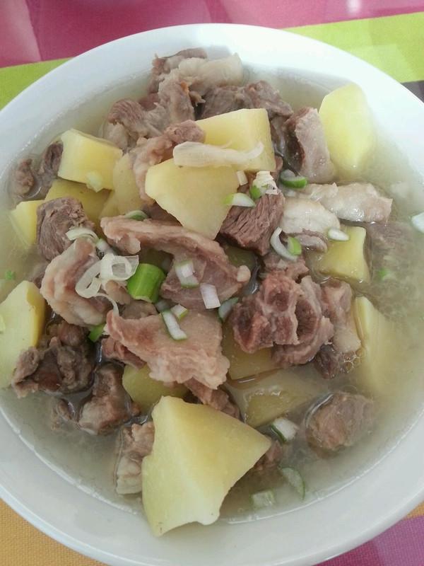 羊肉炖土豆的做法