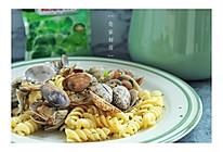 酒蒸蛤蜊意面#宜家让家更有味#的做法