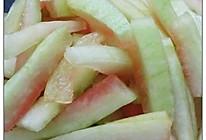 凉拌西瓜皮的做法