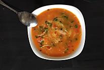 自制香辣番茄酱炒鏡餅(年糕)的做法