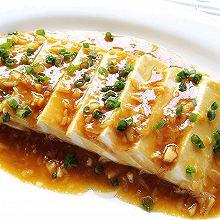 简单又好吃:蚝汁豆腐