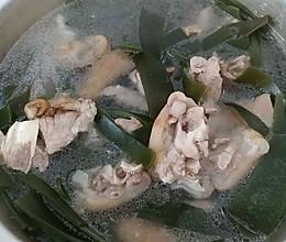 海带炖猪蹄的做法