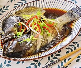 【清蒸龙趸鱼】#快手又营养,我家的冬日必备菜品#的做法