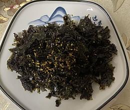 自制拌饭海苔的做法