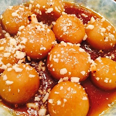 超赞的广东甜品小吃~传说中的糖不甩(如意果)