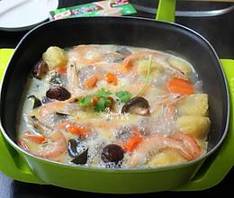 海鲜锅#竹木火锅,文艺腹兴#的做法