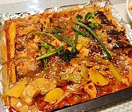 江边城外豆豉烤鱼的做法