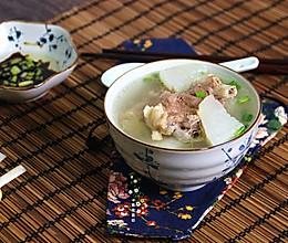 白萝卜清炖羊蝎子(高压锅版)的做法
