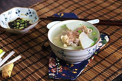 白萝卜清炖羊蝎子(高压锅版)