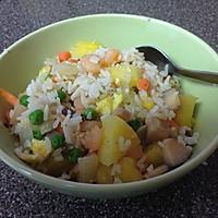 菠萝饭-营养全面能待客的做法图解10