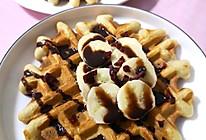 香蕉蜂蜜华夫饼的做法