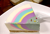 彩虹酸奶慕斯蛋糕的做法