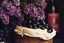 红酒黑加仑蛋糕的做法