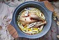 菌菇炖鸡汤#甜粽VS咸粽,你是哪一党?#的做法