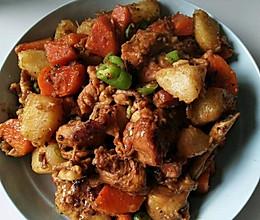 百吃不腻的小鸡腿炖土豆的做法