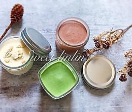 自制冰淇淋—茉莉香草 抹茶乳酪 巧克力坚果的做法