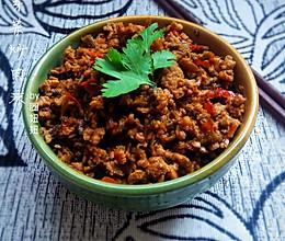 碎米芽菜炒肉沫的做法