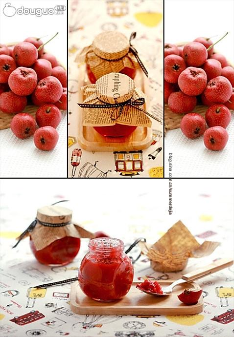 山楂果酱的做法