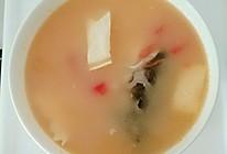 豆腐西红柿酸汤鱼头汤的做法