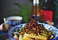 凉拌豌豆粉的做法
