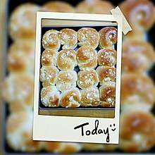 咸蛋黄肉松面包(中种)
