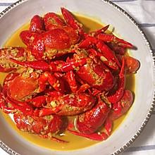 金汤蒜泥小龙虾