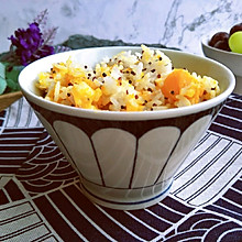南瓜藜麦焖饭