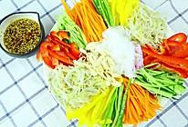 韩式魔芋鸡丝凉拌菜的做法