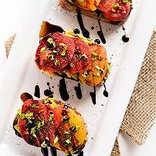 牛油果番茄黑醋開放式三明治