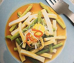 芦笋杏鲍菇的做法