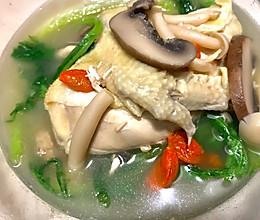 低脂补气鲜美三黄鸡汤的做法